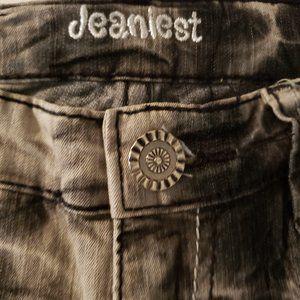 Jeanlest Jeans - Tie-Dyed Skinny Jeans